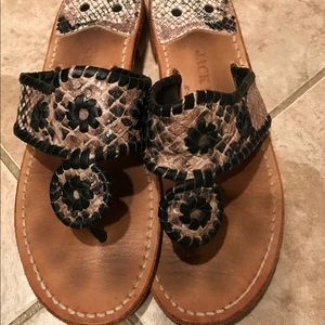 3 for $120: Beautiful Reptile Jack Rogers Sandals